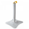Fall protection safety deformable post Unipost