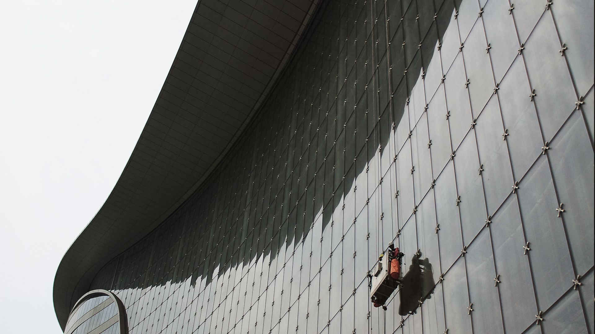 RopeClimber vugge ved Tianjin International Convention Center Hotel