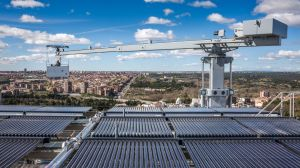 New installation: Unipost lifeline on a roof in Madrid