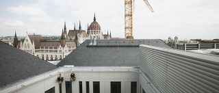 SafeAccess C monorail abseiling Hungarian Parliament Budapest