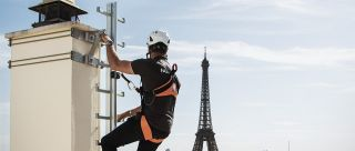 MastLadder ladder chimney maintenance Paris