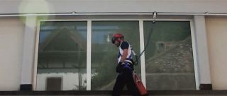 Protection from height cleaning windows