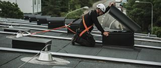 Securope lifeline hot deck roof skylights repair