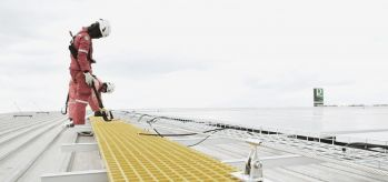 Huawei lifeline cold deck roof