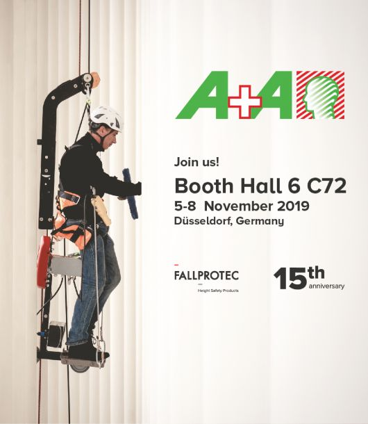 Fallprotec at the A+A 2019
