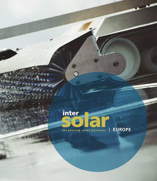 SolarCleano at Intersolar 2018