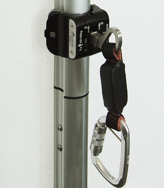 The rigid lifeline SecuRail 2016 is now available in a vertical configuration